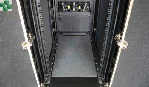 AR4024IX432 Wyciszona meblowa szafa serwerowa  - NetShelter CX 24U 750 mm Wide x 1130 mm Deep Enclosure wykończenie białe