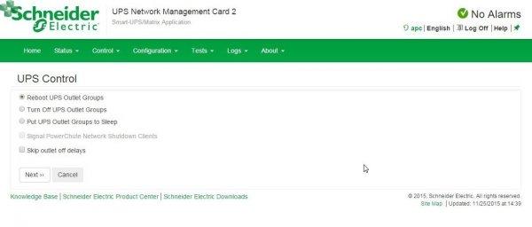 AP9631 Karta zarządzająca UPS Network Management Card 2 z monitorowaniem warunków otoczenia