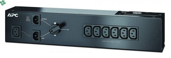 SBP1500RMI Panel obejścia serwisowego APC, 230 V 10 A z (6) GNIAZDAMI IEC C13