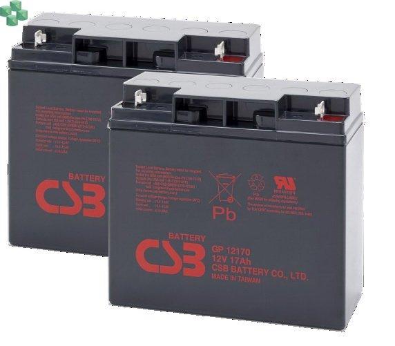 IQRBS7 Zestaw 2 akumulatorów 12V/17Ah do zasilacza UPS (równorzędny zamiennik dla APC RBC7)