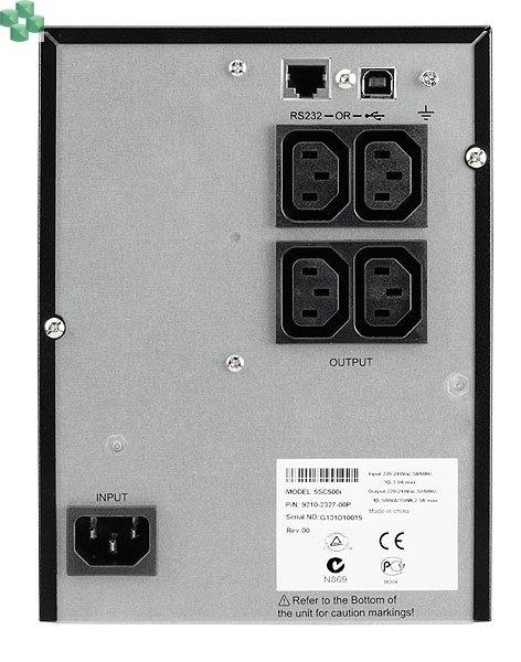 Zasilacz awaryjny EATON 5SC500i (500VA/ 350W) - Line Interactive