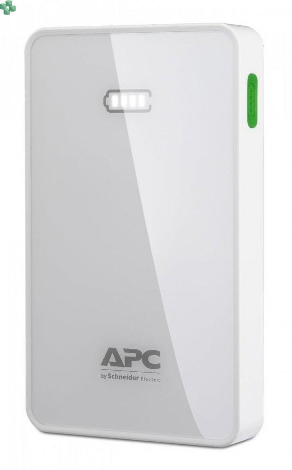 M5WH-EC Przenośny akumulator APC Mobile Power Pack, 5000 mAh litowo-polimerowy, biały.
