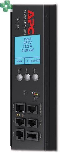 Rack PDU 2G, Metered, ZeroU, 32A, 230V, (36) C13 & (6) C19