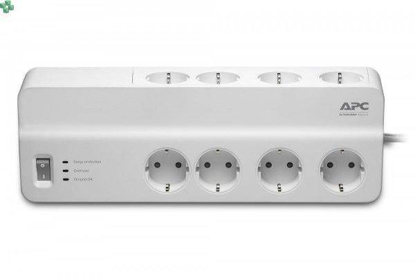 PM8-FR Listwa przeciwprzepięciowa - APC Essential SurgeArrest 8 outlets 230V France
