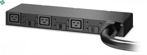 AP6038A Rack PDU, Basic, 0U/1U, 220-240V, 63A, (3) C19