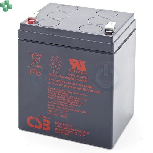 HR1221WF2 CSB akumulator 12V/5,1Ah
