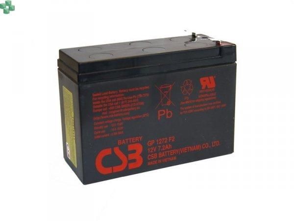IQRBS2 Akumulator CSB GP1272 F2 12V/7.2Ah (równorzędny zamiennik dla modułu APC RBC#2)