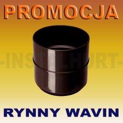 MUFA - ZŁĄCZKA RURY SPUSTOWEJ RYNNY WAVIN KANION FI 75