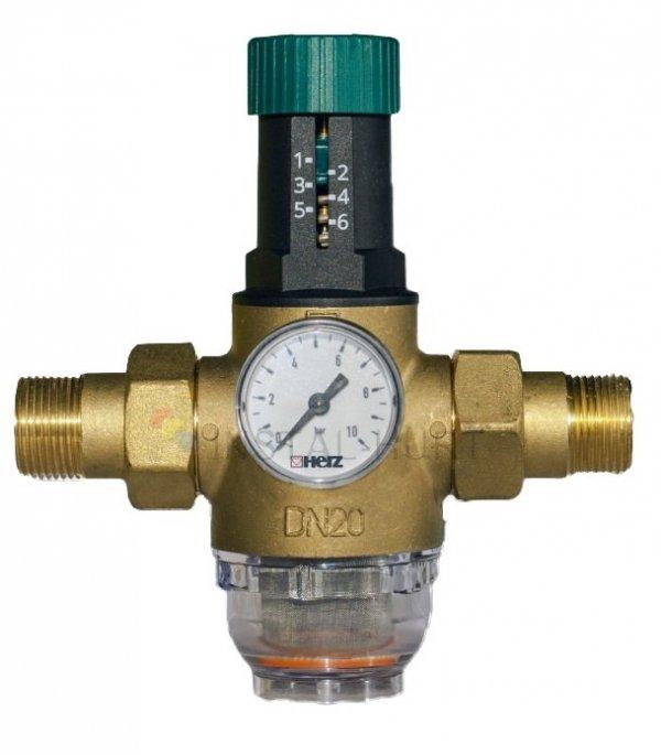 Reduktor ciśnienia wody 3/4'' Herz z Filtrem