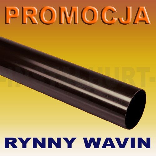 RURA SPUSTOWA RYNNY WAVIN KANION FI 75/3M