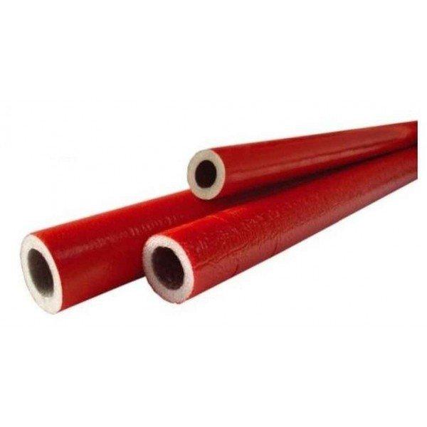 Otulina izolacja na rury 28/6 2mb Czerwona Pex