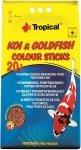 Tropical Koi&Goldfish Colour Sticks - worek 20l