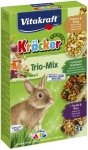 Vitakraft Kracker Kolby dla królika 3szt. z popcornem, z warzywami i z winogronem