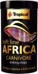 Tropical Soft Line Africa Carnivore Sinking Chips 250ml/130g