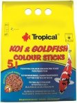 Tropical Koi&Goldfish Colour Sticks - worek 5l
