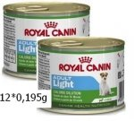 Royal Canin Mini Light puszka 12x195 g