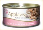 Applaws dla kota puszka 24x70g Tuńczyk i Krewetki