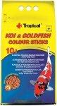 Tropical Koi&Goldfish Colour Sticks - worek 10l
