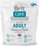 Brit Care Adult Grain Free Salmon & Potato - bezzbożowa karma, Łosoś z ziemniakami 1kg