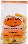 Herbal Pets Chipsy Bananowe 75g