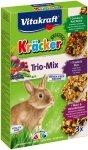 Vitakraft Kracker Kolby dla królika 3szt. z warzywami, orzechami oraz z owocami leśnymi