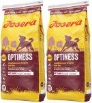 Josera Optiness - Duże krokiety bez kukurydzy 2x15kg (30kg)