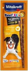 Vitakraft Beef Stick School kabanosiki dla psa z drobiem 10szt.