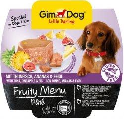 GimDog Fruity Menu Pate - pasztet z tuńczykiem, ananasem i figą 100g