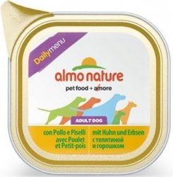 Almo Nature Daily Menu z kurczakiem i groszkiem 100g