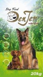 DenJer Dog Food - Karma dla psa z wołowiną 20kg