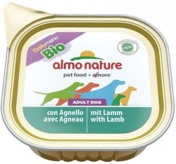 Almo Nature Daily Menu Bio z jqgnięciną 100g