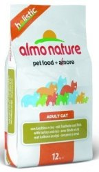 Almo Nature Holistic z indykiem i ryżem 12kg