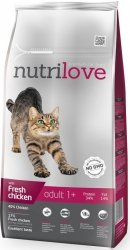 Nutrilove Premium Adult 1+ ze świeżym kurczakiem 1,5kg