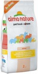 Almo Nature Holistic 2kg Kitten z kurczakiem i ryżem