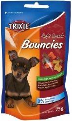 Trixie Soft Snack Bouncies - kostki z drobiem, jagnięciną i flaczkami 75g
