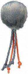 Trixie Piłka z dzwonkiem i sznurkami 4cm
