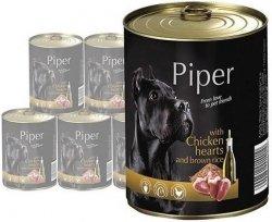 Piper z sercami kurczaka z ryżem 12x400g