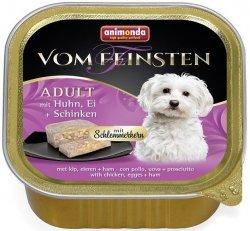 Animonda Vom Feinsten Adult z kurczakiem, jajami i szynką 150g