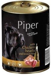 Piper z sercami kurczaka z ryżem 800g