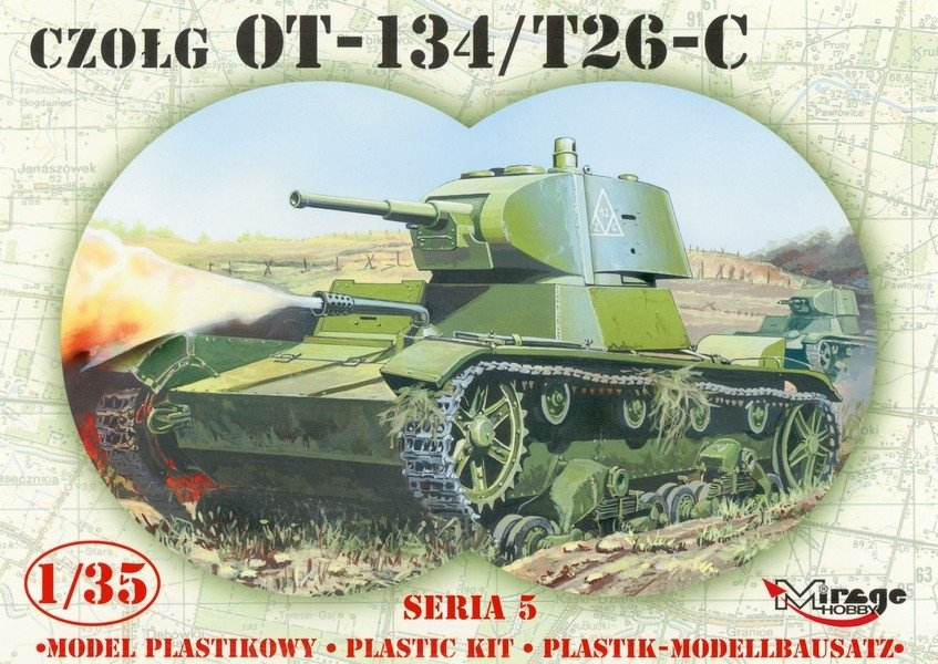 Т-26 обр. 1939 г. 1/35, (Mirage hobby 35309). A337d5009e061c40e30aeb282496d2a1