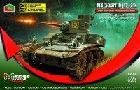 Mirage 726069 1/72 M3 'STUART' Light Tank 2/6th Australian Armoured Regiment (Buna, Gona, Sanananda Dec.'42-Jan '43)