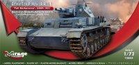 Mirage 728055 1/72 German Tank Pz.Kpfw. IV Ausf. E 'Fall Barbarossa' USSR 1941