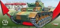 Mirage 728053 1/72 German Tank Pz.Kpfw. IV Ausf. C 'Normandy 1944'