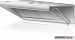 Okap wyciągowy przyścienny DM-S 3602 1000x1000x400