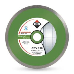 Tarcza diamentowa do gresu porcelanowego Rubi CEV 230 Super PRO 25,4/22,2 mm (30941)