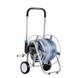 Wózek metalowy Cellfast EXPLORER + wąż ogrodowy 50m + zraszacz  55−060