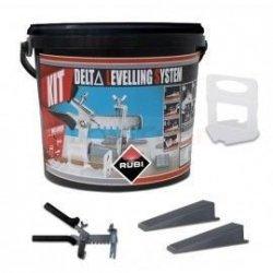 Zestaw Delta Leveling Kit system poziomowania płytek Rubi 02848