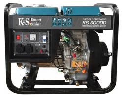 Agregat prądotwórczy DIESEL K&S KS 6000D 230V / 5.5 kW