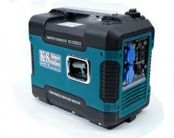 Inwertorowy agregat prądotwórczy benzyna K&S KS 2000i S 230 V 2kW