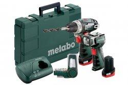 Metabo zestaw wkrętarka PowerMaxx BS Basic Set 2x2Ah 600080530